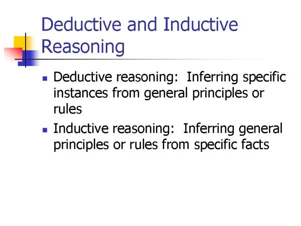 a basic form of deductive argument is ________