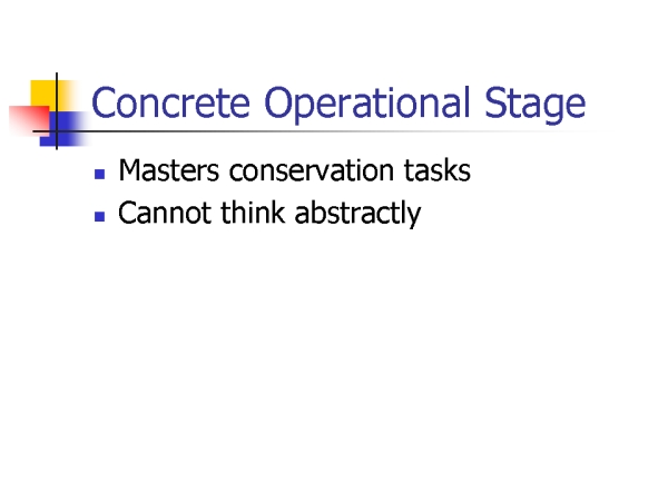 toy for concrete operational piaget stage