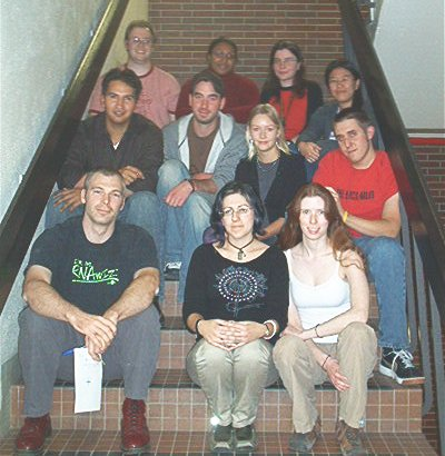 The 2005 lab picture.