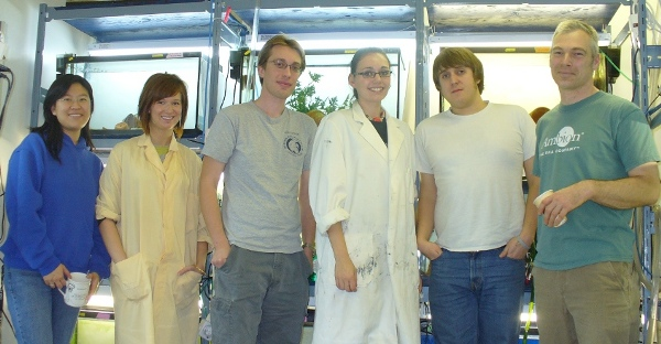 The lab, fall 2008.
