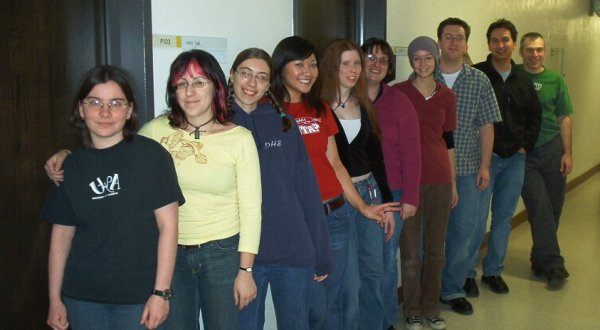 The 2004 lab picture.