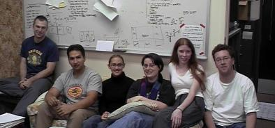 The 2003 lab picture.