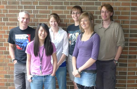 The lab, Summer 2010.