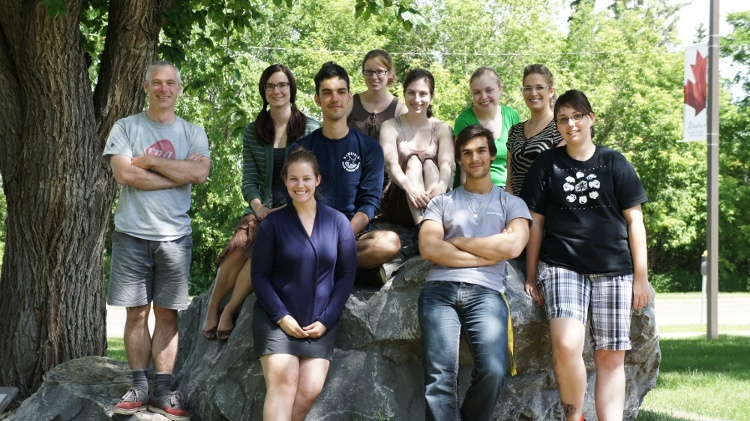 The lab, Summer 2012.